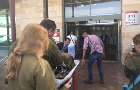 """מתיחות בצפון: חייל נפצע בגבול לבנון – אושפז במצב קל במרכז הרפואי """"זיו"""" בצפת"""
