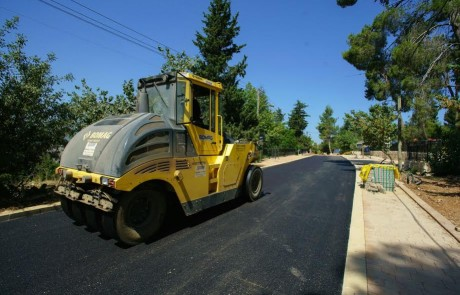 הושלמו העבודות לשדרוג תשתיות כבישים והמדרכות בכרם בן זמרה