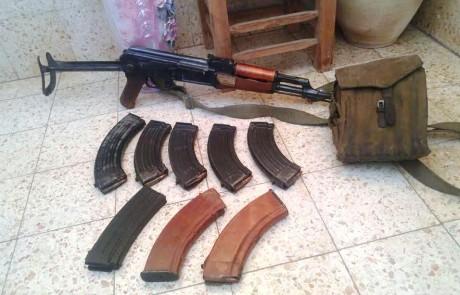 המשטרה ממשיכה באיתור אמצעי לחימה בגליל – מתחילת השנה נתפסו 273 רובים ורימונים