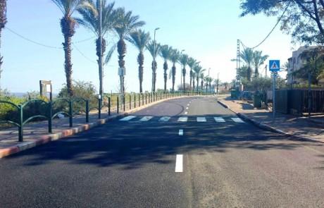 הושלמו עבודות לשיפור כביש הגישה לטובא