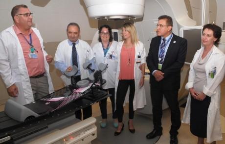 גם לפריפריה מגיע: נפתח מכון הקרנות של הצפון לטיפול בחולי סרטן במרכז הרפואי זיו בצפת